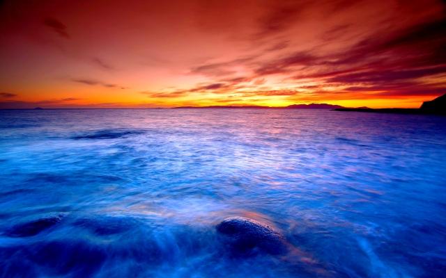 Landscape-Sunset-Beach-Free-HD-Widescreen-Wallpapers